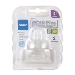 Bico 3 para mamadeiras MAM- Fluxo Rápido - Embalagem Dupla