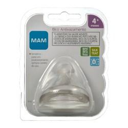 Bico de Mamadeira MAM Antivazamento - Fluxo Rápido - Embalagem Unitária