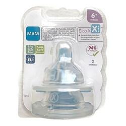 Bico X para Mamadeira MAM - Fluxo Super Rápido - Embalagem Dupla