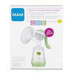 Bomba Tira-Leite Manual MAM Breast Pump
