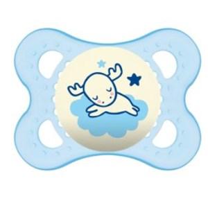 Chupeta Mam Night 0-6 Meses - Embalagem Unitária Azul