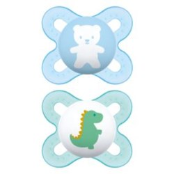 Chupeta MAM Start 0-2 meses Azul - Embalagem Dupla