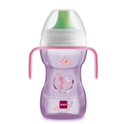 Copo Mam Fun To Drink 270Ml - Rosa