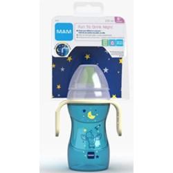 Copo MAM Fun To Drink Night 270 ml - Azul