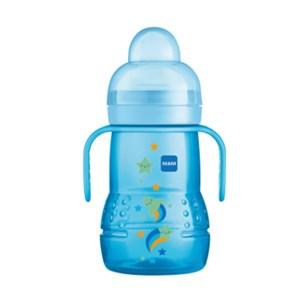 Copo MAM Trainer +4 meses 220 ml Azul