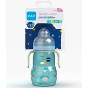 Copo MAM Trainer Night 220 ml - Azul