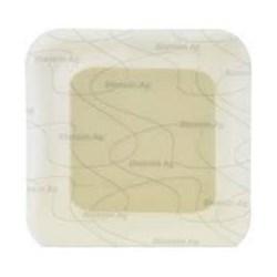 Curativo Espuma C/ Prata - Adesivo -  12,5 x12,5 - Biatain Ag - Coloplast