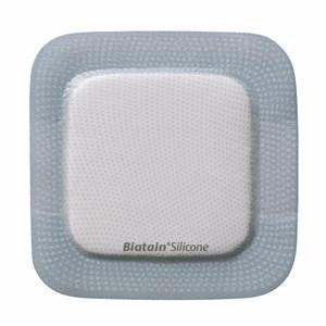 Curativo Espuma e Silicone - Adesivo -10x10 - Biatain Silicone - Coloplast