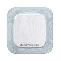 Curativo Espuma e Silicone - Adesivo - 12,5x12,5 - Biatain Silicone Lite