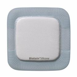 Curativo Espuma e Silicone - Adesivo -15x15 - Biatain Silicone - Coloplast