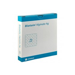 Curativo Hidrofibra Alginato de Cálcio C/Prata - 15x15 - Biatain Ag