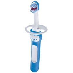Escova de dente infantil azul MAM Babys Brush - embalagem unitária