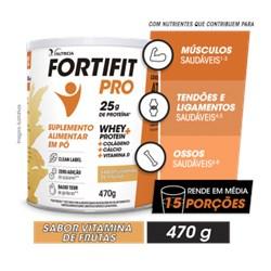 Fortifit Pro - Vitamina de Frutas - 470 g - Danone