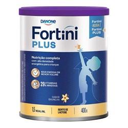 Fortini Plus Baunilha Em Pó 400g Danone