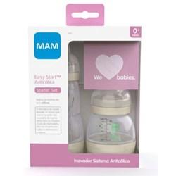 Kit 2 Mamadeiras MAM Easy Start  Neutra- Starter Set
