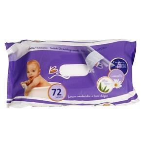 Lenços Umedecidos - embalagem com 72 und - Baby Bath