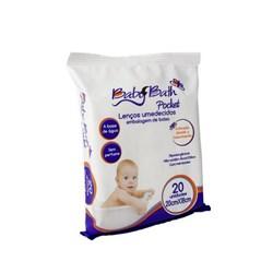 Lenços Umedecidos - Pocket com 20 und - Baby Bath