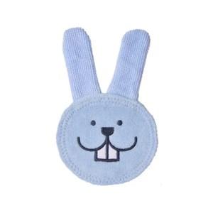 Luva Mam Oral Care Rabbit - Azul