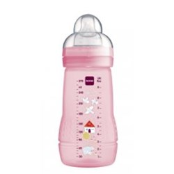 Mamadeira Mam Easy Active 270ml - Embalagem Unitária  Rosa