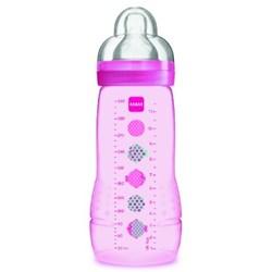 Mamadeira MAM Easy Active 330ml Rosa - Embalagem Unitária