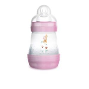 Mamadeira Mam Easy Start 160ml - Embalagem Unitária Rosa