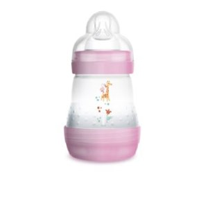 Mamadeira MAM Easy Start 160ml Rosa - Embalagem Unitária