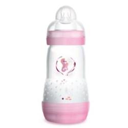 Mamadeira Mam Easy Start 260ml Rosa - Embalagem Unitária