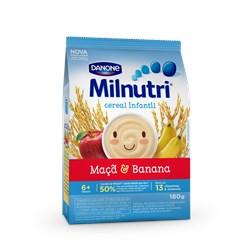Milnutri - Cereal Arroz Banana & Maçã 180g - Danone