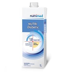 Nutri Diabetic 1.0 Kcal/mL Baunilha 1000mL - Nutrimed