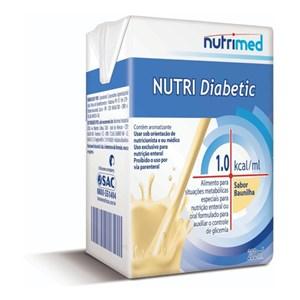 Nutri Diabetic 1.0 Kcal/mL - Baunilha - 200mL - Nutrimed
