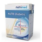 Produto Nutri Diabetic 1.0 Kcal/mL - Baunilha - 200mL - Nutrimed