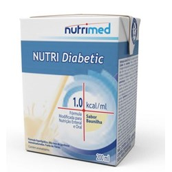 Nutri Diabetic 1.0 Kcal/mL - Baunilha - 200mL - Nutrimed
