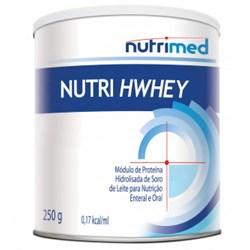 Nutri Hwhey 250 g Sem Sabor - Nutrimed