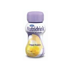 Nutridrink Compact Protein Baunilha - Kit 4 unidades de 125 mL - Danone