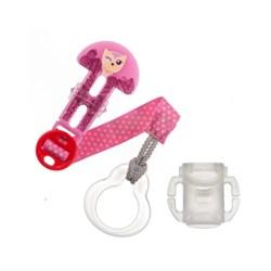 Prendedor de Chupeta MAM Clip It! - Rosa