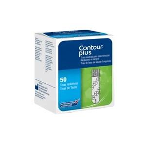 Tiras Reagentes Countour Plus - Caixa C/ 50 Unidades